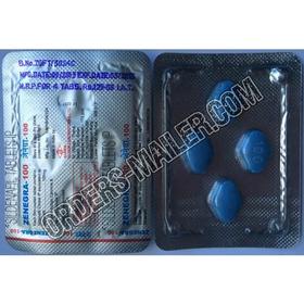 Zenegra® (Marque) 100 mg